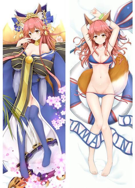 Fate Grand Order FateGO FGO Tamamo-no-Mae Anime Dakimakura Pillow Case