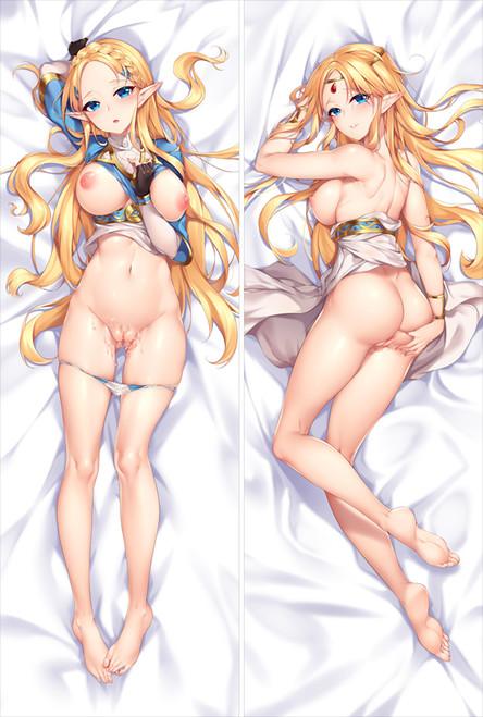The Legend of Zelda Zelda Anime Dakimakura Pillow Cover