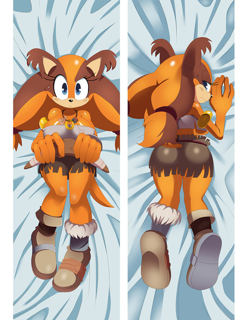 Sonic the Hedgehog Sticks The Badger Anime Dakimakura Pillow Cover