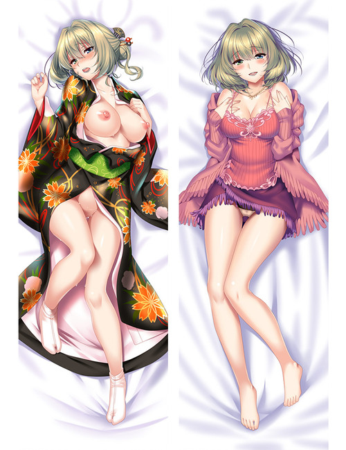 The Idolm@Ster Cinderella Girls Kaede Takagaki Anime Dakimakura Pillow Cover