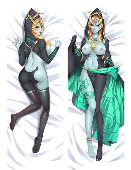 The Legend of Zelda Midna Anime Dakimakura Pillow Cover