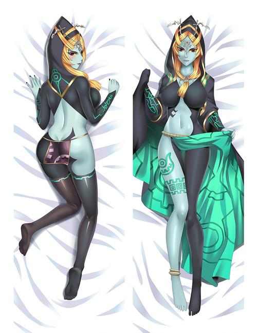The Legend of Zelda Midna Anime Dakimakura Pillow Cover-1