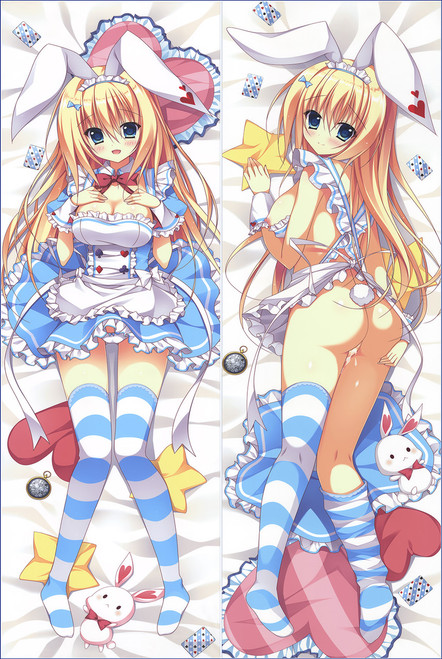 Alice's Adventures in Wonderland Alice in Wonderland Alice Anime Dakimakura Pillow Cover