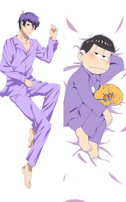 Osomatsu kun Matsuno Ichimatsu Anime Dakimakura Pillow Case