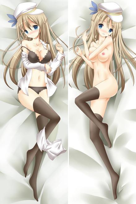 Warship Girls Lexington Anime Dakimakura Pillow Case-2