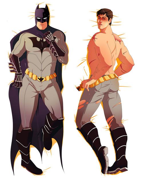 DC Comics Batman Anime Dakimakura Pillow Cover