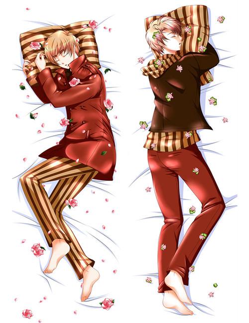 Hetalia Axis Powers China Anime Dakimakura Pillow Case