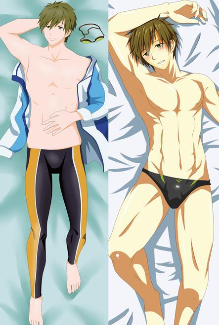 Free!Haruka Nanase Rin Matsuoka Dakimakura  Anime Hugging Body Pillow Case Cover