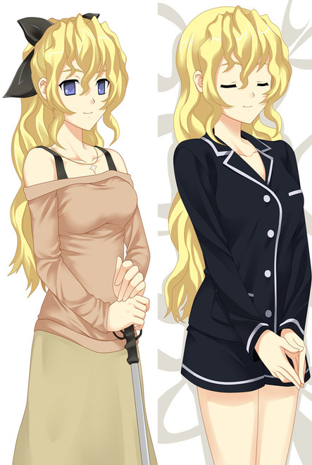 Katawa Shoujo Lilly Satou Anime Dakimakura Pillow Case