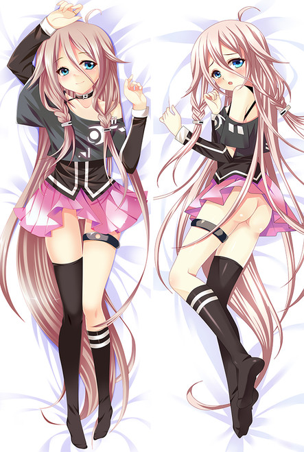 VOCALOID3 Library IA ROCKS Anime Dakimakura Pillow Case