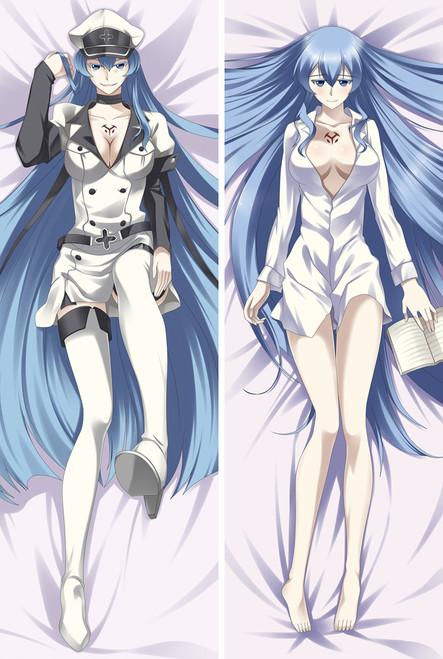 Akame Ga Kill! Esdeath Anime Dakimakura Pillow Case