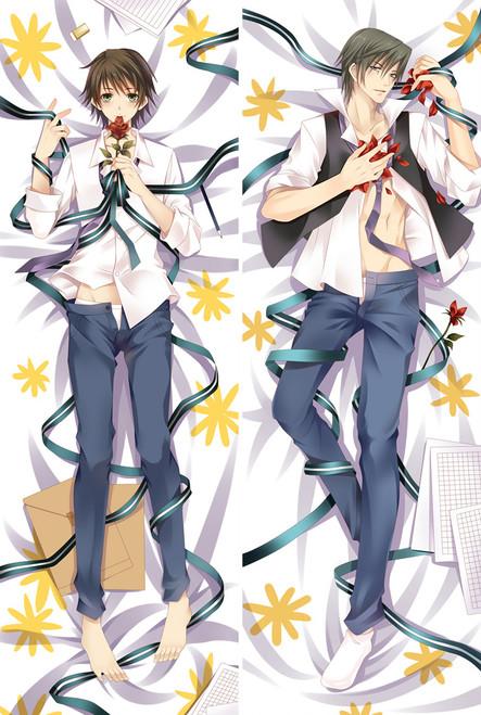 Junjo Romantica Pure Romance Akihiko Usami Anime Dakimakura Pillow Case