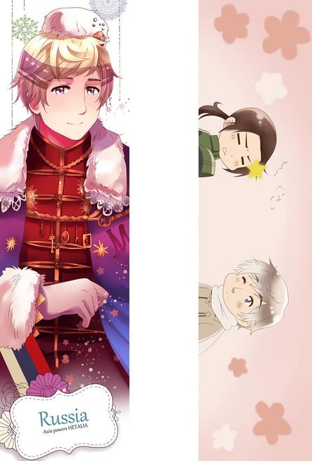 Axis powers Hetalia Russia Anime Dakimakura Pillow Case