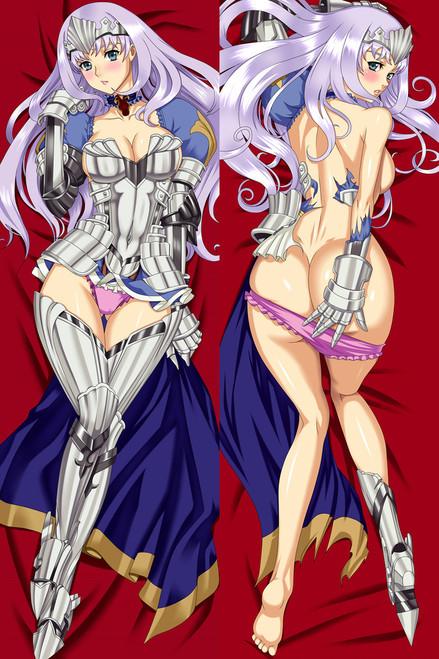 Queen's Blade Rebellion Annelotte Kreutz Anime Dakimakura Pillow Case