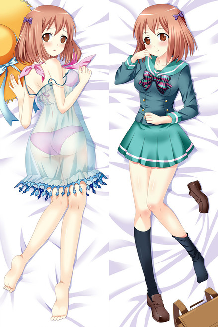 The Devil Is a Part-Timer Chiho Sasaki Anime Dakimakura Pillow Case