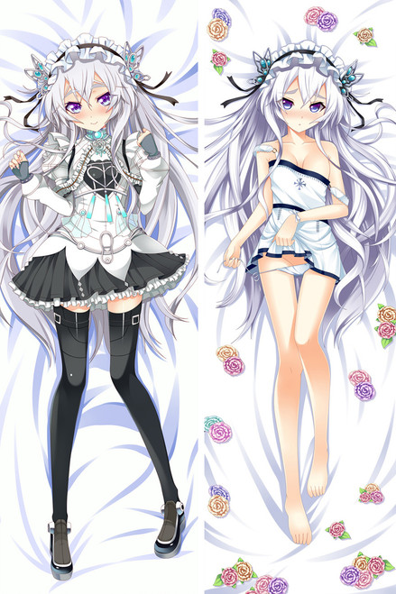 Chaika - The Coffin Princess Chaika Trabant Anime Dakimakura Pillow Case-1