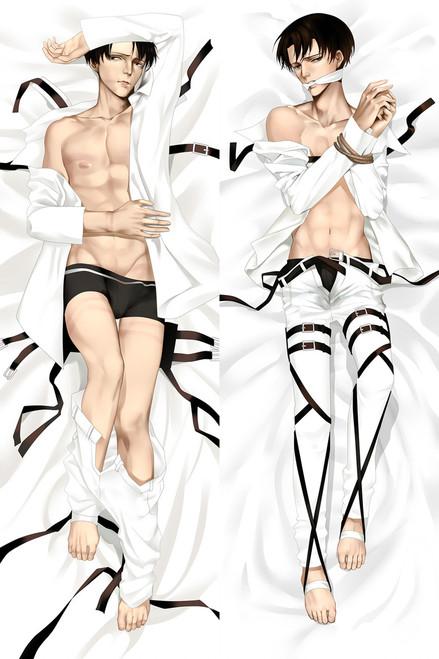 Attack on Titan Levi Ackerman Anime Dakimakura Pillow Case-1