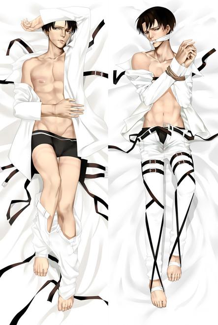 Attack on Titan Levi Ackerman Anime Dakimakura Pillow Case-2