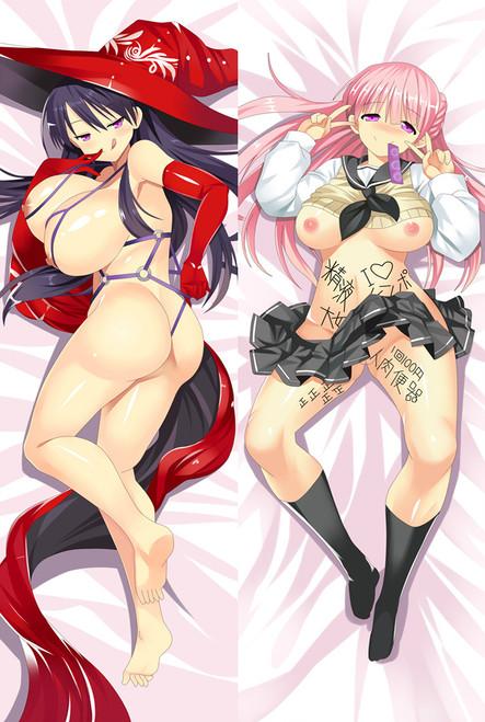 Gyakuten Majo Saiban Enma Kaoru Anime Dakimakura Pillow Case