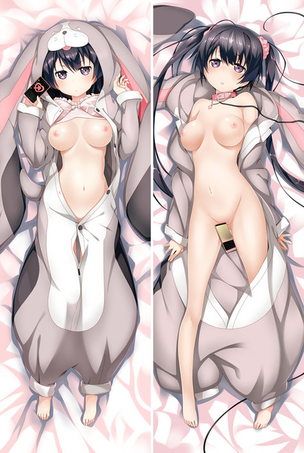 Kokoro Rista! Nagasawa Seika Anime Dakimakura Pillow Case