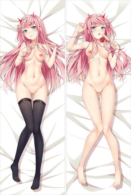 Darling in the Franxx 002 Anime Dakimakura Pillow Cover-2