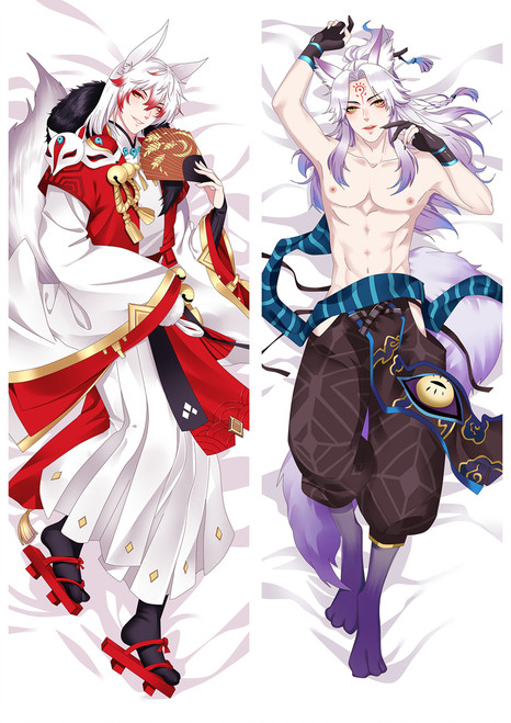 Onmyoji Youko Anime Dakimakura Pillow Cover Mgf-86052