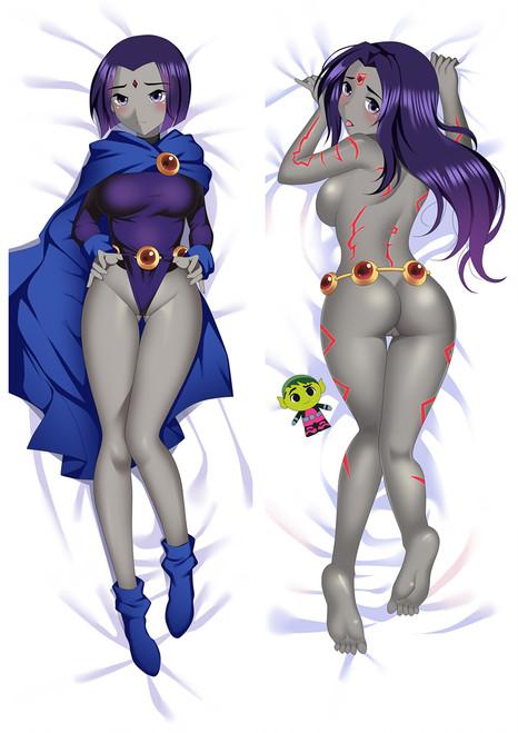 Teen Titans Raven Anime Dakimakura Pillow Cover Mgf-86072