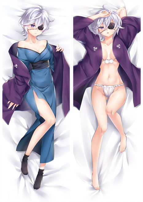 Yuuna and the Haunted Hot Springs Oboro Shintō Anime Dakimakura Pillow Cover Mgf-18076-1