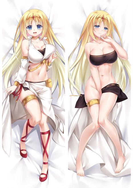 The Master of Ragnarok & Blesser of Einherjar Felicia Anime Dakimakura Pillow Cover Mgf-18080-1