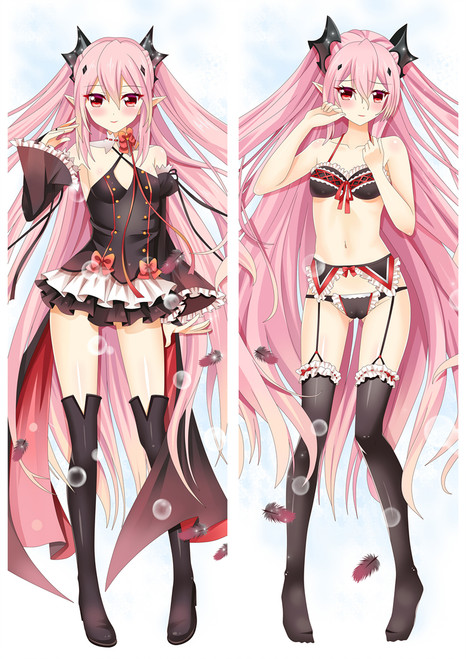Seraph of the End Krul Tepes Anime Dakimakura Pillow Cover Mgf-87035