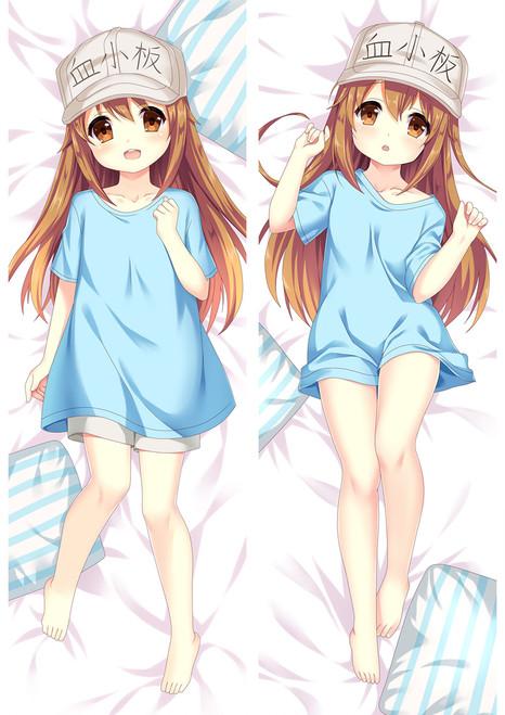 Cells at Work! Platelet Anime Dakimakura Pillow Cover Mgf-88034