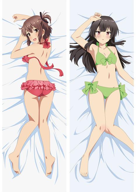 Katana Maidens ~ Toji No Miko Kanami Eto Hiyori Jujo Anime Dakimakura Pillow Cover Mgf-88042