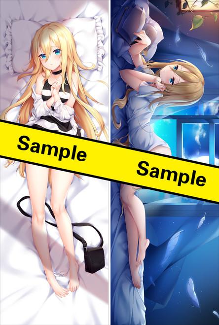 Angels of Death Rachel Anime Dakimakura Pillow Cover YC0788