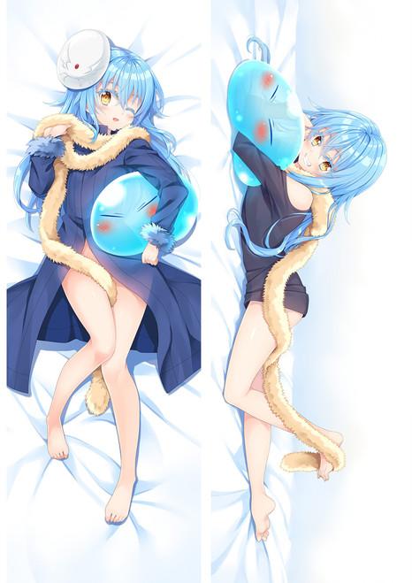 That Time I Got Reincarnated as a Slime Rimuru Satoru Mikami Anime Dakimakura Pillow Cover Mgf-18125