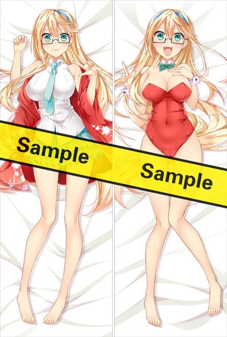 Ore ga Suki nano wa Imōto dakedo Imōto ja nai Ahegao W Peace Sensei Anime Dakimakura Pillow Cover YC0820