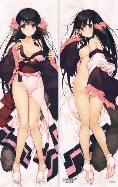 Utawarerumono Futari no Hakuoro Rurutie Anime Dakimakura Pillow Cover SM2363