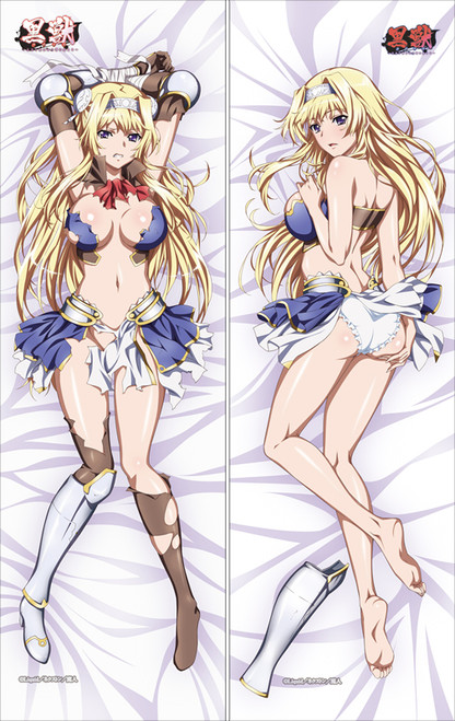 Kuroinu ~ Kedakaki Seijo wa Hakudaku ni Somaru ~ Alicia Arcturus Anime Dakimakura Pillow Cover SM2395