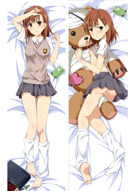 A Certain Scientific Railgun Mikoto Misaka Anime Dakimakura Pillow Cover Mgf-91070