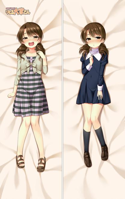 Dokidoki Little Ooyasan Asou Miyuri Anime Dakimakura Pillow Cover SM2402