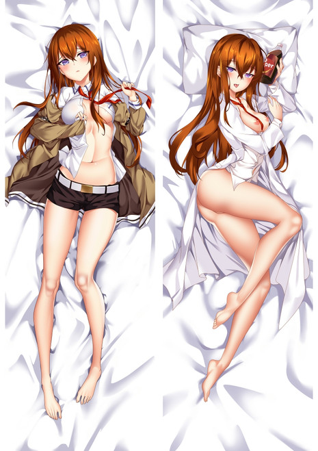 Steins Gate Kurisu Makise Anime Dakimakura Pillow Cover Mgf-93031
