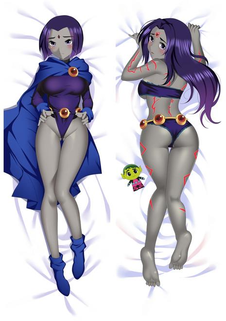 Teen Titans Raven Anime Dakimakura Pillow Cover Mgf-930311