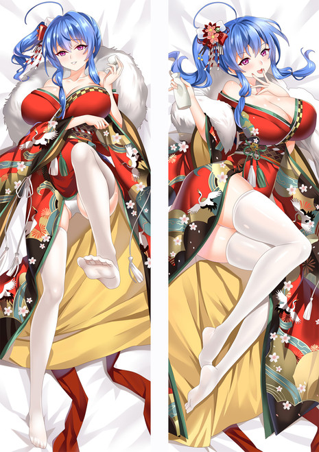 Azur Lane HMS Hood Anime Dakimakura Pillow Cover MGF94006