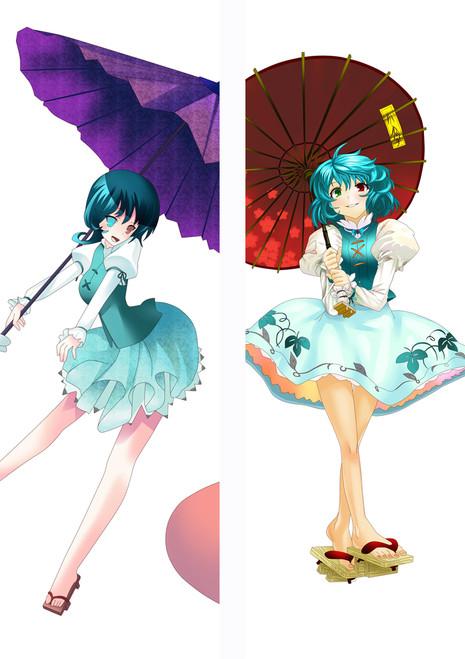 Tohou Project  Anime Dakimakura Pillow Cover MGF94009