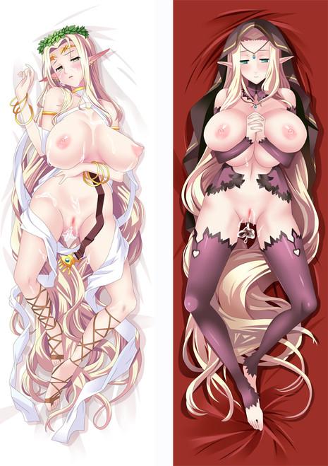 Kuroinu ~ Kedakaki Seijo Wa Hakudaku Ni Somaru ~ Celestine Lucross Anime Dakimakura Pillow Cover MGF94012