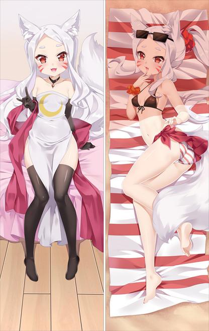 The Helpful Fox Senko-san shiro Anime Dakimakura Pillow Cover SM2579