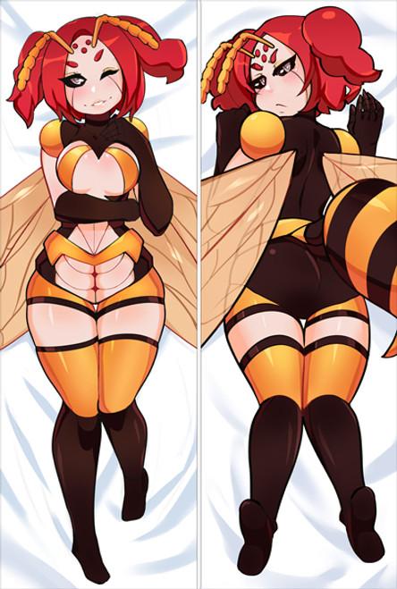 monster girl island Wasp Anime Dakimakura Pillow Cover SM2610