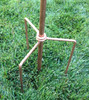Stanwood Wind Sculpture: Spare Parts - Copper Anchor Stakes for Pole Anchoring