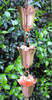Stanwood Rain Chain - Copper Rain Chain Tulip Flower Blossom 8-ft