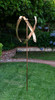 Stanwood Wind Sculpture: Standing United Kinetic Copper Triple Spinner