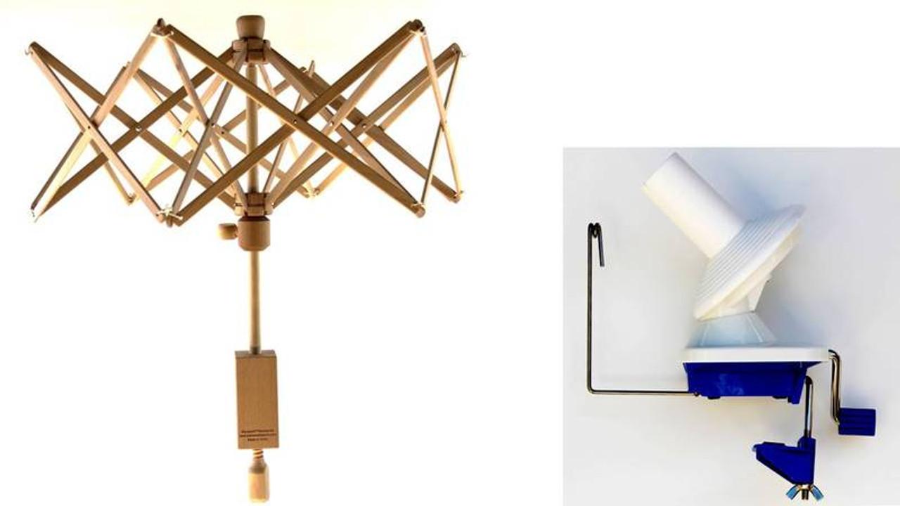 Stanwood Needlecraft Medium Umbrella Yarn Swift Ball Winder Ybw A Combination 1